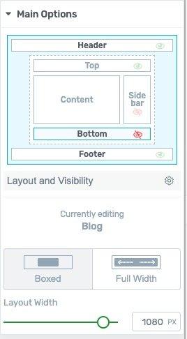 enable sidebar